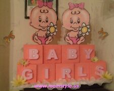 Twin Baby Girls Baby Shower Party Decoration