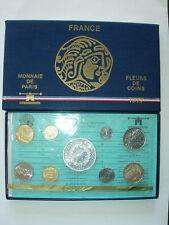 COFFRET 1977 FRANCE MONNAIE DE PARIS FLEUR DE COIN FDC BU 50 Fr HERCULE Argent R