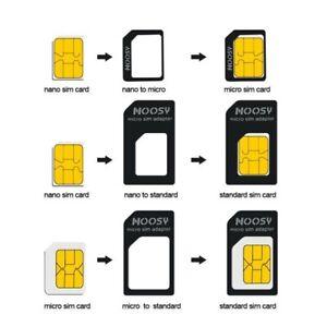 Small Mini Micro Nano Sim Card Adaptor Adapter Converter High Quality