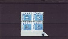 SOUTH AFRICA - SGD79 MNH 1972 8c BLUE POSTAGE DUE - BLOCK OF 4