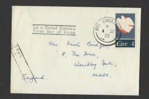 IRELAND 1972 PATRIOT DEED FDC