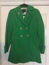 Banana Republic Classic Green Jacket Coat Peacoat Size XS Extra Small