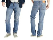 Cotton Faded Classic Fit, Straight Rise 34L Jeans for Men