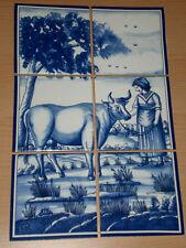 Hermoso Baldosas de Espejo Imagen, Azulejos En Histórico Estilo 26 , 5x40cm
