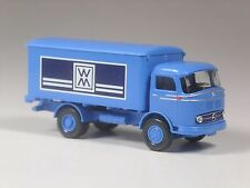 TOP: Wiking Mercedes LP 321 Koffer LKW WM blau