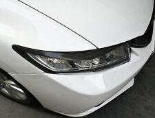 For Honda Civic 2012-2015 Carbon Fiber Headlamps Light Brow Decorative Trim 2Pcs