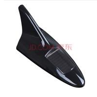 Black Solar Powered LED Warning Flash Car Antenna Light Strobe Tail Light
