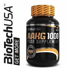 BIOTECH USA AAKG 1000MG 100 TABLETS OF NITRIC OXIDE BOOSTER, SEXUAL EFFICIENCY.