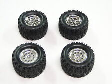 NEW ASSOCIATED MINI RIVAL MT Wheels & Tires RC18MT AEM10