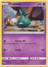 4x Trubbish - 50/145 - Common Guardians Rising Pokemon Near Mint