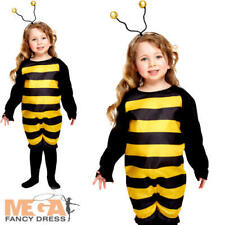 Bumble Bee Toddler Ages 2 3 Years Fancy Dress Kids Bug Childs Girls Costume