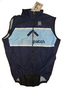NEW - Squadra Wind Vest with Mesh, Purple-Patch, Men's M