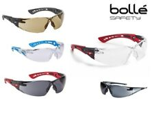 Bolle Rush Range Safety Glasses Spectacles Clear, Smoke,Tinted or Twilight Lens