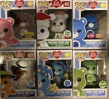 Funko Pop! Care Bears Exclusives Set Of 6!