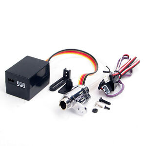 Electronic Simulation Smoking Exhaust Pipe Upgrade Kit for RC HSP HPI 1/10 Car