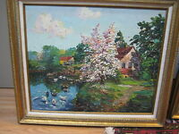 Jack Prudnikov Oil Painting Abstract Scene