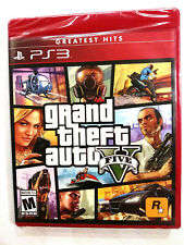 Grand Theft Auto V gta 5 [Sony PlayStation 3 2013] Ps3 feat. Online Complete New