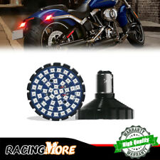 2pcs 1157 Red 48-SMD LED Turn Signal Lights Kit For Harley Davidson Motorcycles
