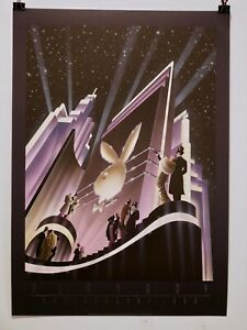 """Robert Hoppe, """"Playboy Anniversary"""" Limited Issue 17 plate Lithograph, 1988"""
