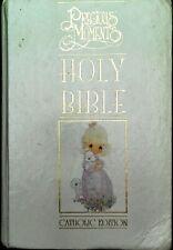 Precious Moments Holy Bible Catholic Edition Hardback 1994 Illustrated