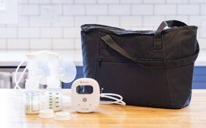 New Ameda Mya Joy Double Electric Breast Pump + Tote Bag + Milk Storage Bags