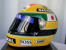 1/1 SHOEI HELMET M Ayrton Senna Suzuka F1 Japan GP Specification 1992 replica