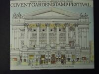 COVENT GARDEN STAMP FESTIVAL 1982 Theatre Stamps in pop-up PRESENTATION PACK