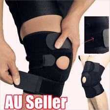 Neoprene Patella Black Elastic Knee Brace Fastener Support Guard Gym Sport