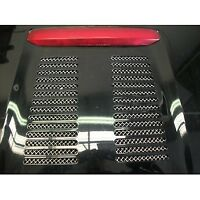 ZUNSPORT SILVER ENGINE GRILLE for TOYOTA MR2 2002-05 ZTY50002