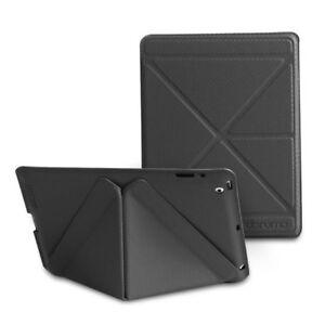 S-Fun 2nd Ed. Leather case for iPad 2/3/4 - Black By daruma