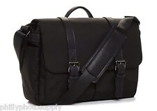 ONA Brixton Nylon (Black) - Camera / Messenger Handcrafted Bag