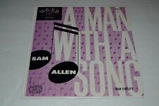 Sam Allen~A Man With a Song~Word Records W 3025~Christian~Xian~FAST SHIPPING
