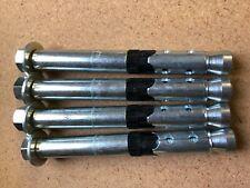(4) PIECES FISCHER ANCHOR BOLT FH II M18/50 X 160MM LONG BRAND NEW