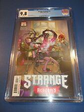 Strange Academy #2 CGC 9.8 NM/M Gorgeous Gem Wow Doctor Strange