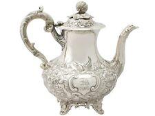 Sterling SILVER CAFFETTIERA da Joseph & Albert Savory-antico vittoriano