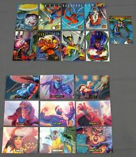 94 Marvel Masterpieces Power Blast & 95 Fleer Ultra Xmen Hunters & Stalkers Sets