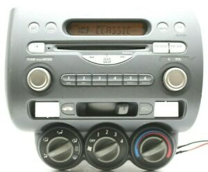 HONDA JAZZ CD RADIO AUX PLAYER CAR STEREO DECODED 2002 2003 2004 2005 2006 2007