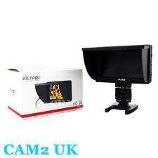 Viltrox 5'' DC-50 Clip-on Color TFT LCD Monitor HDMI AV Input for Canon Camera