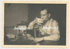 Frankreich-Saargemünd- Unterkunft-Soldat 1940- Pz.Jg.Abt.230 (p508)