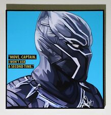 ❤️ Black Panter Marvel canvas quote wall decals photo painting pop art poster