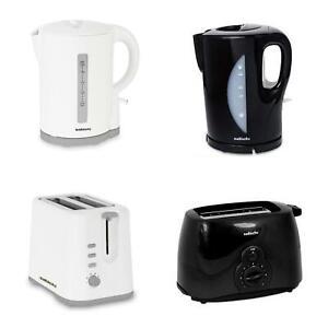 Sabichi 1.7L Cordless Kettle & 2 Slice Toaster Set