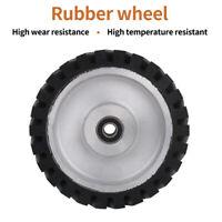 150 200mm Serrated Rubber Contact Wheels Bearing Belt Sander for Metal Polishing