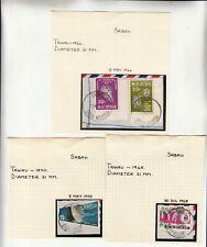 Malaysia: Sabah: Collection of Tawau postmarks, 1966-1978