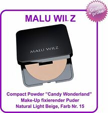 "Malu Wilz Compact Powder - Make up fixierender Puder ""Candy Wonderland""  Nr. 15"