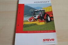 127814) Steyr 4065 4075 4085 4095 Kompakt Prospekt 05/2009