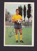 Walter Schmidt .. Eintracht Braunschweig .. Signiertes  Bergmann Sammelbild