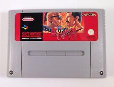 Final de lucha Super Nintendo (SNES) PAL Cartucho De Juego Con Estuche de plástico totalmente probado