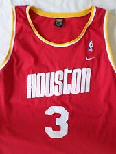 STEVE FRANCIS 3 Houston Rockets Nike Team red yellow jersey tank top 4XL