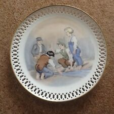A Copenhagen porcelain plate  the darning needle