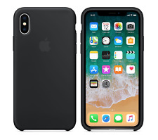 BLACK GENUINE ORIGINAL OFFICIAL Apple Silicone Case iPhone X SEALED BOX RRP $39
